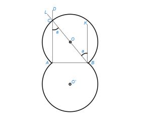 Найти геометрическое место точек, из которых данный отрезок виден под данным углом
